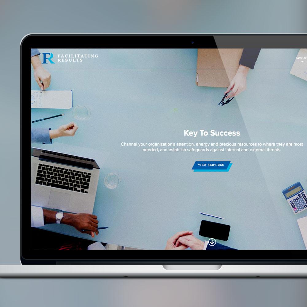 Facilitating Results Web Design & Development by Melodic Creative