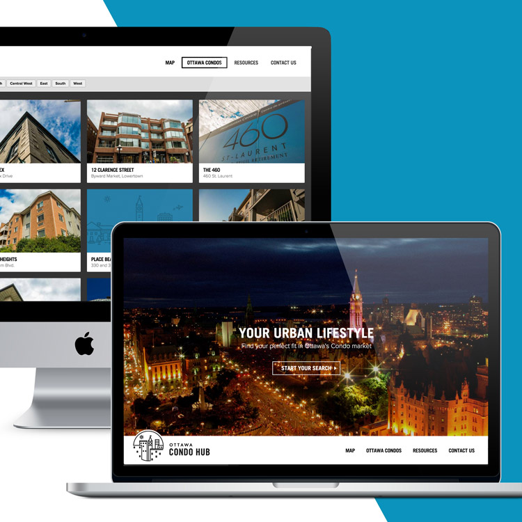 Ottawa Condo Hub Web Design & Development by Melodic Creative