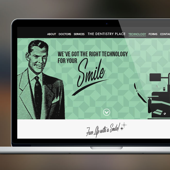 The Dentistry Place Web Development by Melodic Creativeand Launch Co