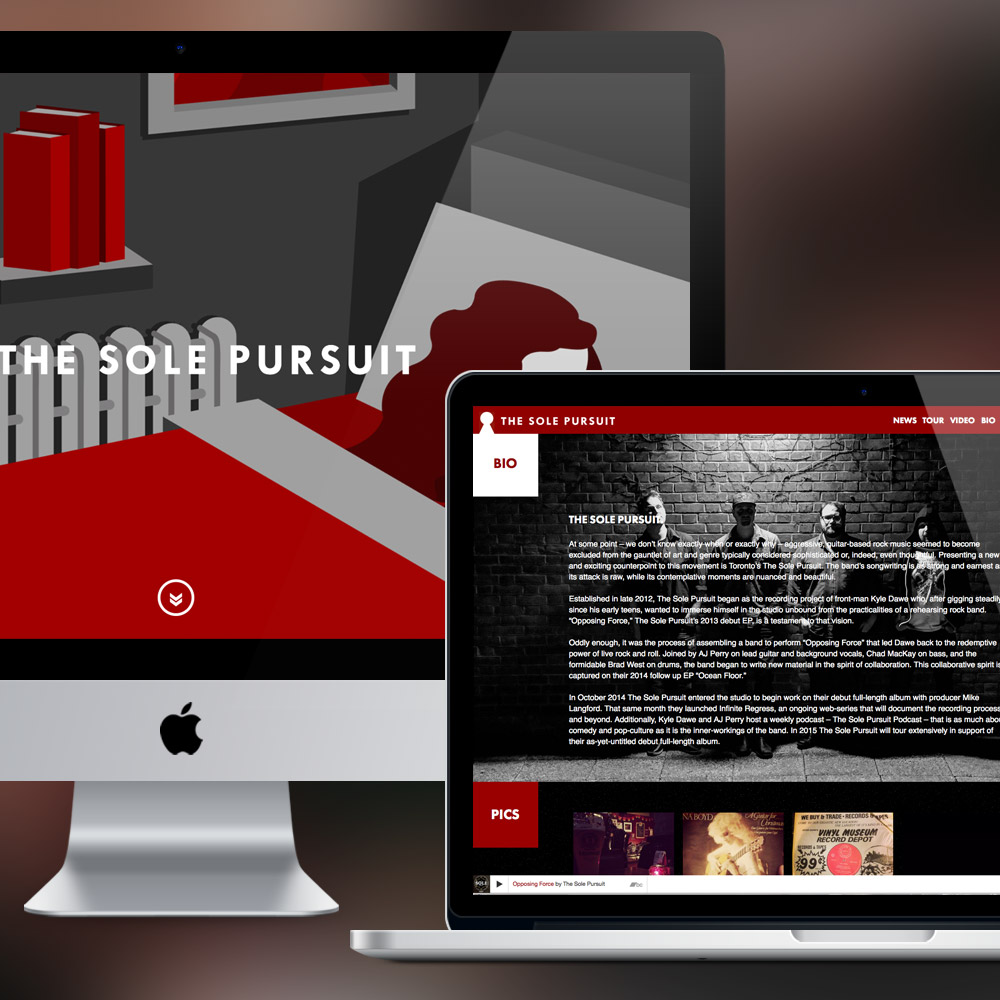 The Sole Pursuit Web Design & Development by Melodic Creative