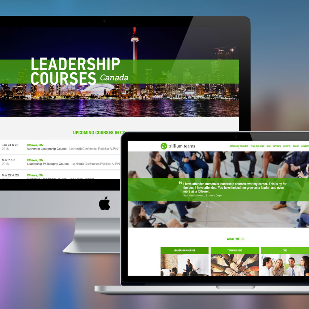 Trillium Teams Web Design & Development by Melodic Creative